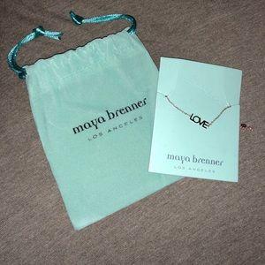 Maya Brenner Designs Love Bracelet